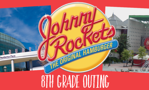 8th Grade Outing: June 8th